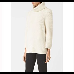 All Saints JAGO Roll Neck Jumper